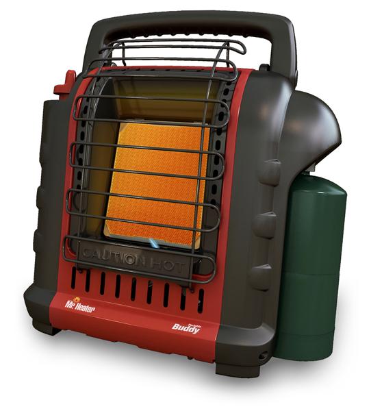 MH9BX 9000 Btu Buddy Indoor Safe Portable Propane Heater - F232000