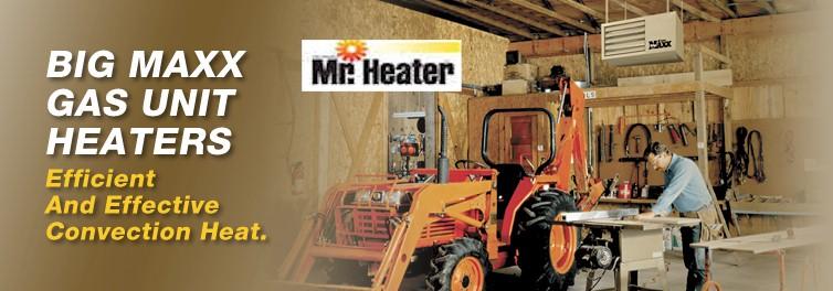 Mr Heater Mhu50 50 000 Btu Natural Gas Big Maxx Compact