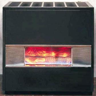 Front Vented Hearth Heater - 35,000 btu - Natural Gas High Altitude