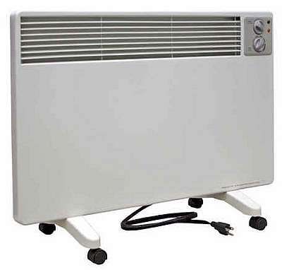 Qmark Radiant Convection Portable Panel Heater 120 Volt