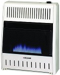 Williams 1096513.9 Blue Flame Vent Free Heater - 10,000 btu - Built In Thermostat