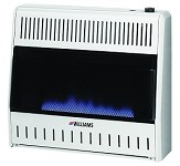 Williams 3096513.9 Blue Flame Vent Free Heater - 30,000 btu - Built In Thermostat