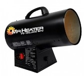 Mr. Heater MH125QFAV 125,000 Btu Forced Air Portable Propane Heater - F271390