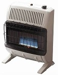 Mr. Heater MHVFB20NGT 20,000 Btu Vent Free Blue Flame Natural Gas Heater - F299150