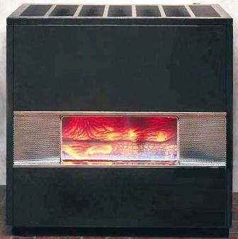 Forced Air Propane Heater >> Williams 3502521A Glass Front Vented Hearth Heater ...