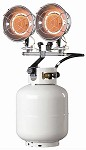 Mr. Heater MH30TS (F242655) 10000 - 30,000 Btu Propane Double Burner Tank Top Propane Heater With Push Button Ignitor