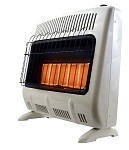 Mr. Heater MHVFRD30NGT 30,000 Btu Vent Free Radiant Natural Gas Heater - F299831
