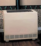 Empire RH65CNAT 65,000 Btu Vented Room Heater - Closed Front - Natural Gas