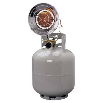 Mr. Heater MH12TS (F273105) 8000 - 14,000 Btu Propane Single Tank Top Propane Heater With Electronic Ignition