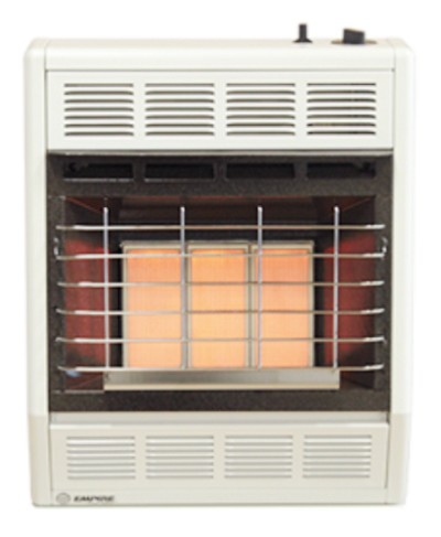 Empire SR18TWNAT 18,000 Btu Radiant Vent Free Natural Gas Space Heater With Thermostat