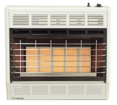 Empire SR30WLP 30,000 Btu Radiant Vent Free Propane (LP) Space Heater
