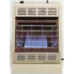 Empire BF20WNAT 20,000 Btu Blue Flame Vent Free Natural Gas Heater With Thermostat