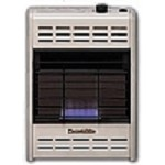 Hearthrite HB10TN 10000 Btu Vent Free Blue Flame Natural Gas Heater With Thermostat