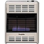 Hearthrite HB20TN 20000 Btu Vent Free Blue Flame Natural Gas Heater With Thermostat