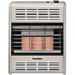 Hearthrite HR18TN 18,000 Btu Vent Free Radiant Natural Gas Heater With Thermostat