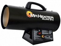 Mr. Heater MH38QFA 35,000 Btu Forced Air Portable Propane Heater - F271350