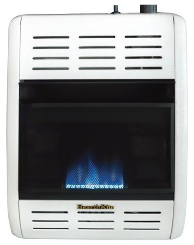Empire Hearthrite HBW06ML Blue Flame Vent-Free Gas Heater - 6000 Btu/H - Propane (LP) - Manual Control