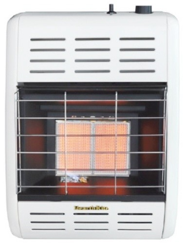 Empire Hearthrite HRW10TN Radiant Vent-Free Gas Heater - 10000 Btu/H - Natural Gas - Thermostatic Control