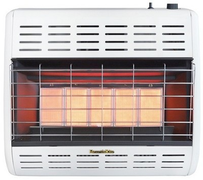 Empire Hearthrite HRW30MN Radiant Vent-Free Gas Heater - 30000 Btu/H - Natural Gas - Manual Control