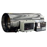 HS250AG 250,000 Btu/H Stainless Steel Direct-fired Forced Air Industrial Heater - Natural Gas - 120 VAC
