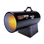 Heatstar HS125FAV 125,000 Btu Forced Air Portable Propane Heater