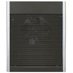 Qmark AWH4408F Premium Heavy Duty Wall Heater - Statuary Bronze Finish - 208 Volts - Up to 4000 Watts