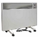 Qmark Radiant Convection Portable Panel Heater - 120 volt - 3 heat settings