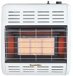 Empire Hearthrite HRW17TL Radiant Vent-Free Gas Heater - 17100 Btu/H - Propane (LP) - Thermostatic Control