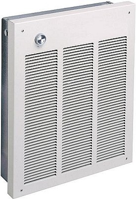 Qmark LFK204 Electric Commercial / Residential Wall Heater, 240 Volts, 2000  Watts - 6824 Btu