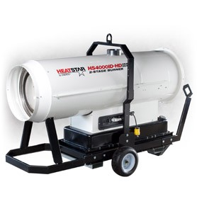 Heatstar By Enerco Portable Indirect Fired Forced Air Heater - Diesel, 400,000 Btu