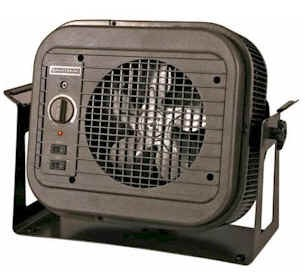 Qmark MUH35 Compact Electric Unit Heater, 208 / 240 Volts, 3800 - 5000 watts